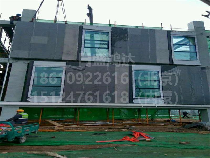 通州副中心预制清水挂板展示楼工程